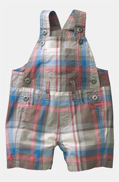Mini Boden 'Summer' Overalls (Infant) available at #Nordstrom