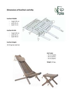 DIY ecochair eco chair is part of Diy furniture chair - Wooden Garden Chairs, Lawn Chairs, Old Chairs, Dining Chairs, Desk Chairs, Lounge Chairs, Diy Furniture Chair, Diy Chair, Rustic Furniture