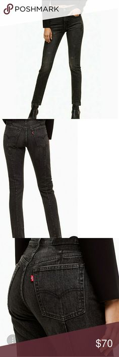 ae53cb5ce34 New LEVI'S 501 Altered Straight Skinny New with tag Waist 28 Length 28  Skinny HIGH RISE