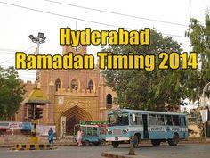 Hyderabad Ramadan Timing 2014