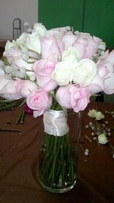 DIY Rose bouquet 2-23-13
