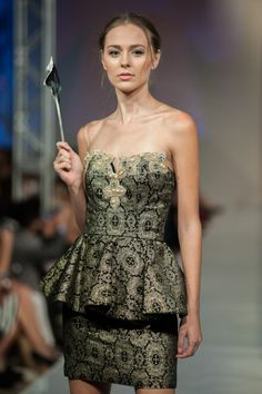 Silvia Bours at #PHXFW