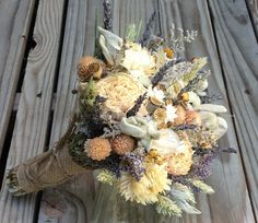 Champagne Collection  Bridesmaid Bouquet  by FamilyDriedFlowers, $35.00 ---- LOVE this!!!