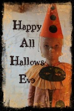 Happy All Hallows Eve. Married on this day.