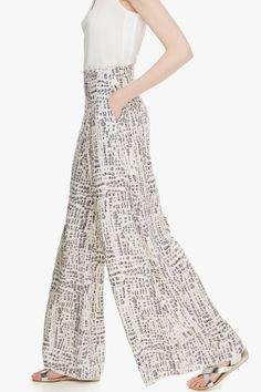 Palazzo Trousers - trousers & shorts | Adolfo Dominguez shop online