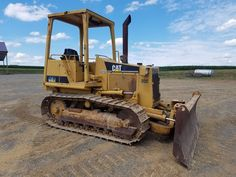 1990 Caterpillar D3C Bull Dozer Crawler Tractor Diesel Engine OROPS Power Shift