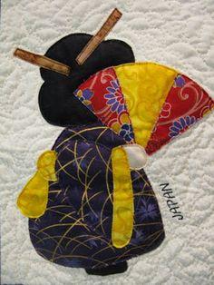 MooseStash Quilting: International Sun Bonnet Sue xox