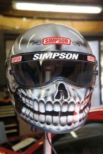 Blaze Artworks Custom Motorcycle Helmet 103
