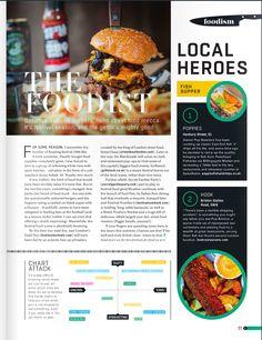 Fish Supper, Magazine Layout Design, Local Hero, Street Food, Graphic Design, Visual Communication