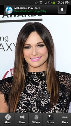 The most unique and high ranking app about Best Of Kacey Musgraves! <p>This is the most amazing app you will find when it comes to information about Kacey Musgraves. <p>Get the latest updates, news, information, videos, photos, events and amazing deals for Best Of Kacey Musgraves app fanatics.<br>  <br>Download this app now!  <p>Kacey Lee Musgraves is an American country music artist. She self-released three albums before appearing on the fifth season of the USA Network's singing competition…