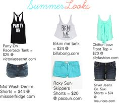 """Summer Looks 2012""  CUTEEEEE!!"