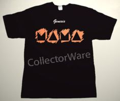 GENESIS Mama cover art CUSTOM ART UNIQUE T-SHIRT  Each T-shirt is individually hand-painted, a true and unique work of art indeed!  To order this, or design your own custom T-shirt, please contact us at info@collectorware.com, or visit  http://www.collectorware.com/tees-genesis_andrelated.htm