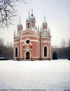 near St Petersburg, Russia