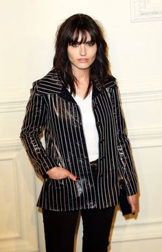 Isabella Manfredi joins Chanel's brunette brigade.