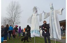 Hundreds of hearty souls started the new year Jan. 1 with a frosty dip in Boundary Bay at the Annual Polar Bear Swim. The event included entertainment, stilt walkers and activities for the kids. The 33, Jan 1, News Stories, Polar Bear, Dips, Swim, Entertainment, Activities, Animals