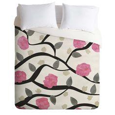 Georgiana Paraschiv Spring Blossom Duvet Cover   DENY Designs Home Accessories