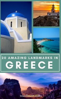 20 Incredible Landmarks in Greece. Many of the most impressive Greek landmarks date back to Ancient Greece, which was the birthplace of democracy, the cradle of Western civilisation and one of the oldest languages in the world. #greece #greek #travel #europe #travelideas #landmarks #monuments European Travel Tips, Europe Travel Guide, European Vacation, Travel Guides, European Trips, Travel Abroad, Europe Destinations, Yellowstone National Park, National Parks