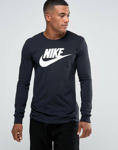 Buy Black Nike long T-shirt for men at best price. Compare T-Shirts prices  from online stores like Asos - Wossel Global