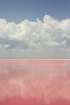 Colour Inspiration - Pink / Lake Retba, Senegal (western Africa)