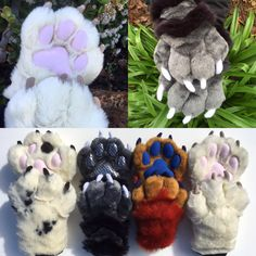 Inspiration Fursuit Paws, Fursuit Head, Cool Costumes, Halloween Costumes, Fursuit Tutorial, Kitten Mittens, Wolf Costume, Furry Drawing, Costume