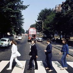 Friday 8 August All four Beatles gathered at EMI Studios on the morning of Friday 8 August 1969 for one of the most famous photo shoots of their career. Photographer Iain Macmillan took the famous image that adorned their last-recorded album, Abbey Road.