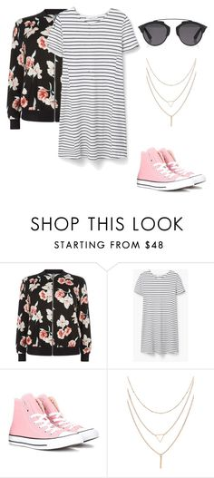 """""""Untitled #18"""" by izzybelle1013 on Polyvore featuring New Look, MANGO, Converse and Christian Dior"""