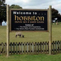Matamata, New Zealand. The Hobbit movie set. May 2012.  Oh my goodness!!!!