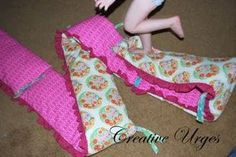 Creative Urges-Creative Blogspot: How to make a crib bumper tutorial...
