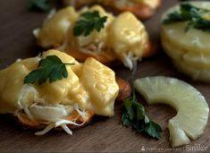 Kotlety schabowe z selerem i ananasem