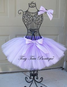 Lovely Lavender Lavender baby/child tutu with  by TinyTutuBoutique, $20.00