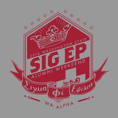 Sigma Phi Epsilon Alumni Weekend Design