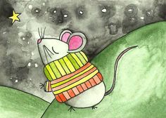 Mouse In a Sweater