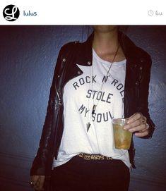 Rock 'n roll stole my soul