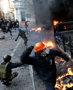 EuroMaidan, A bloody Feb. 18, as police and protesters face off after at least 22 killed, by Anastasia Vlasova