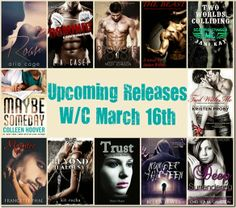 upcoming releases wc march 16