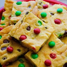 Cake Mix Cookie Bars Recipe Desserts with yellow cake mix, vanilla ...