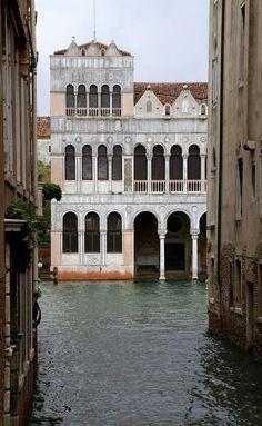 Venice, the Fondaco dei Turchi, a Veneto-Byzantine style palazzo on the Grand Canal of Venice