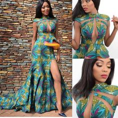 Hey Ladies, Whether you are from Somalia, France or China, the Ghanaian Kente fabric is a choice fabric that can be used in creating stunning styles. Kente fabrics can be worn for many events and … African Dresses For Women, African Print Dresses, African Print Fashion, Africa Fashion, African Attire, African Wear, African Fashion Dresses, African Women, Moda Afro