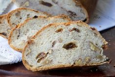 Pan de nueces y pasas