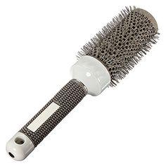 فرشاة السيراميك الحديد جولة مشط الحلاق تصفيف الشعر صالون لتصفيف (25 ملليمتر)