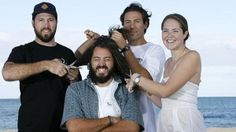 Cabe Paparone, at just 23 years old, has decided the February 2015 Rottnest Channel swim will be the day he loses his lovely locks that he has been growing for the last three years. #headshave #fundraise #haircut #cancer #support