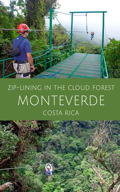 See Costa Rica's Monteverde Cloud Forest from the air along a sky walk suspension bridge and by zip-lining high up through the treetops.