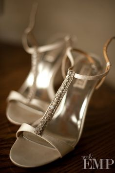 Golden Wedding Shoes // Studio EMP