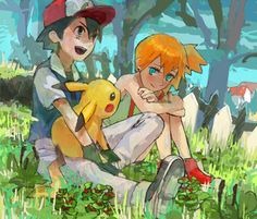It was the one thing they never let out in the American version...  I wanted to see Misty's crush mature...