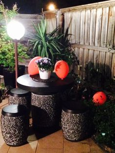 New outdoor setting from bunnings