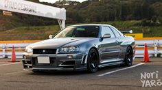One of the top 3 cars I want to have. Nissan Skyline R34 GT-R V-Spec II Nur.