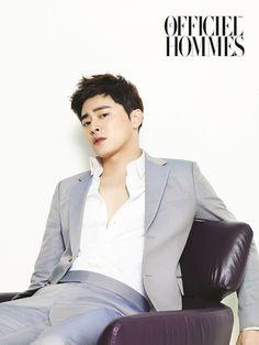 Jo Jung Seok - L'Officiel Hommes Magazine June Issue '14