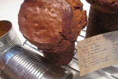 Remember Baking Date And Nut Breads In Tin Cans? | I'm holding a well-worn and yellowed 3-by-5-inch, lined recipe card for Date and Nut Bread baked in cans as my mind wanders back to the New Jersey kitchen of my childhood. I'm about 10, and Mom and I are tying our aprons in the yellow-print wallpapered kitchen with vertical knotty pine planks that go a […]