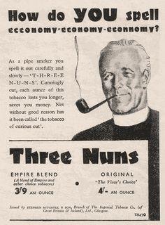 Three Nuns Pipe Tobacco, 1947