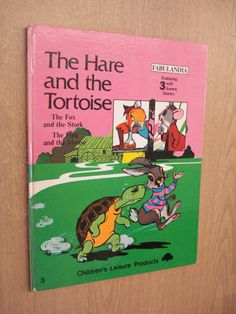 The Hare and the Tortoise - Fabulandia (3 Well Known Stories) by Janet Allan